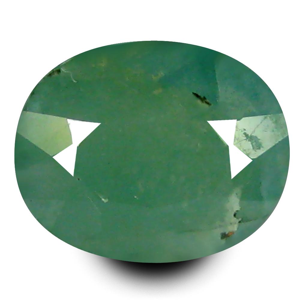 2.08 ct AAA Valuable Oval Shape (9 x 7 mm) Bluish Green Grandidierite Natural Gemstone