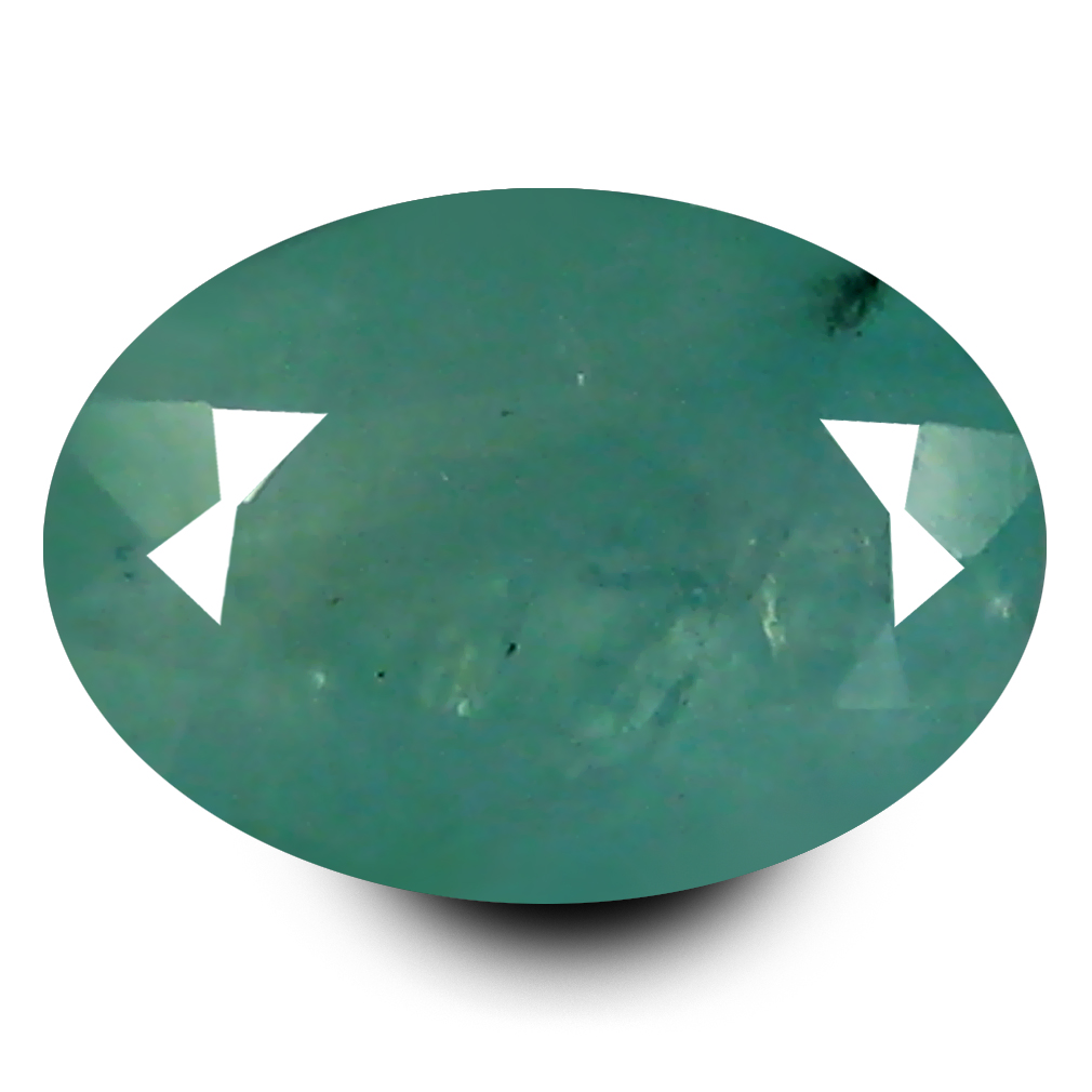 1.12 ct AAA Incomparable Oval Shape (8 x 5 mm) Bluish Green Grandidierite Natural Gemstone