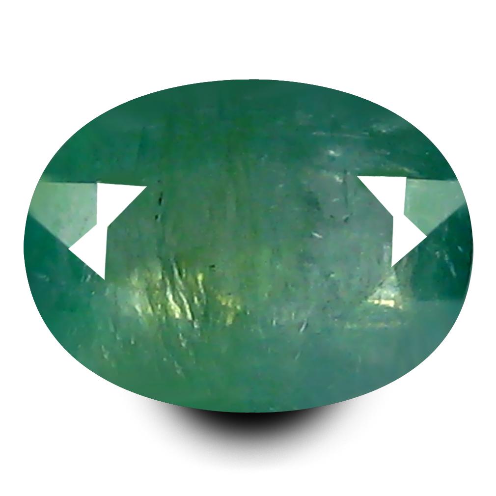 0.85 ct AAA Fabulous Oval Shape (7 x 5 mm) Bluish Green Grandidierite Natural Gemstone