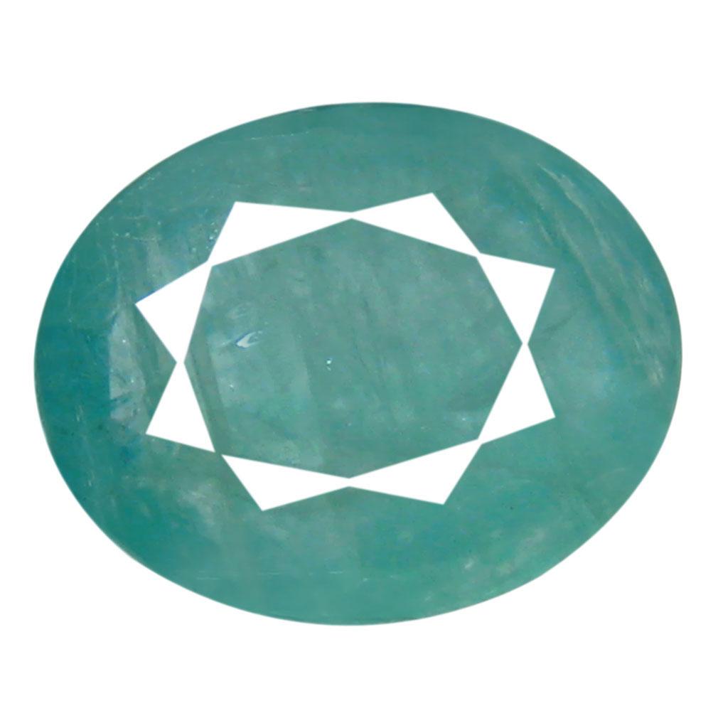 1.62 ct AAA Superb Oval Shape (9 x 7 mm) Greenish Blue Grandidierite Natural Gemstone