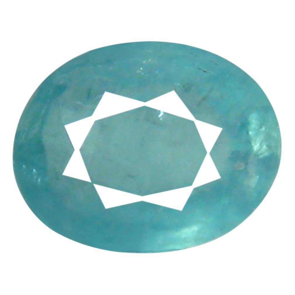 0.50 ct AAA Marvelous Oval Shape (6 x 5 mm) Greenish Blue Grandidierite Natural Gemstone