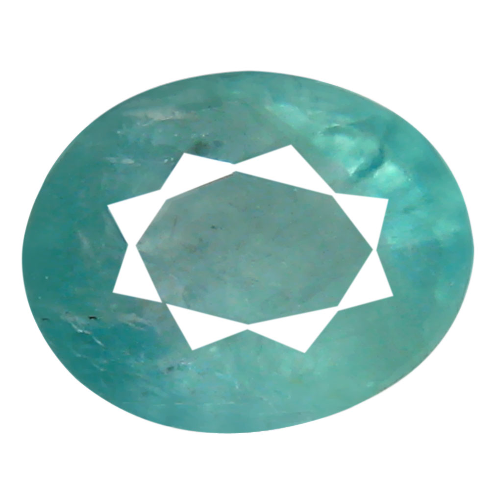 0.55 ct AAA Romantic Oval Shape (6 x 5 mm) Greenish Blue Grandidierite Natural Gemstone