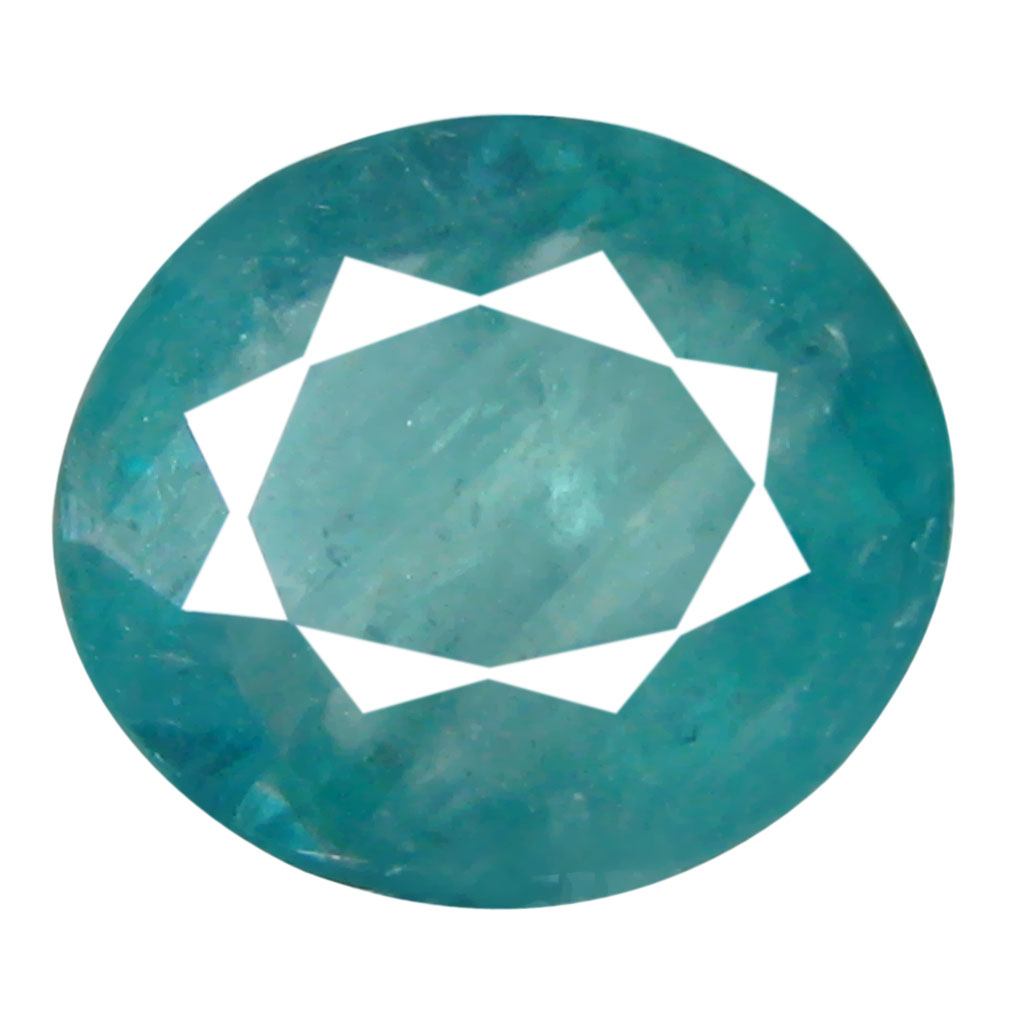 0.60 ct AAA Best Oval Shape (6 x 6 mm) Greenish Blue Grandidierite Natural Gemstone