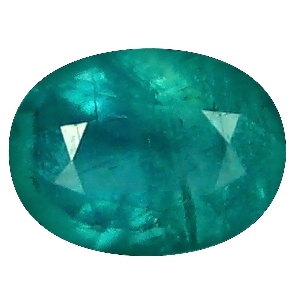 0.51 ct Best Oval Cut (6 x 5 mm) Unheated / Untreated Greenish Blue Grandidierite Natural Gemstone