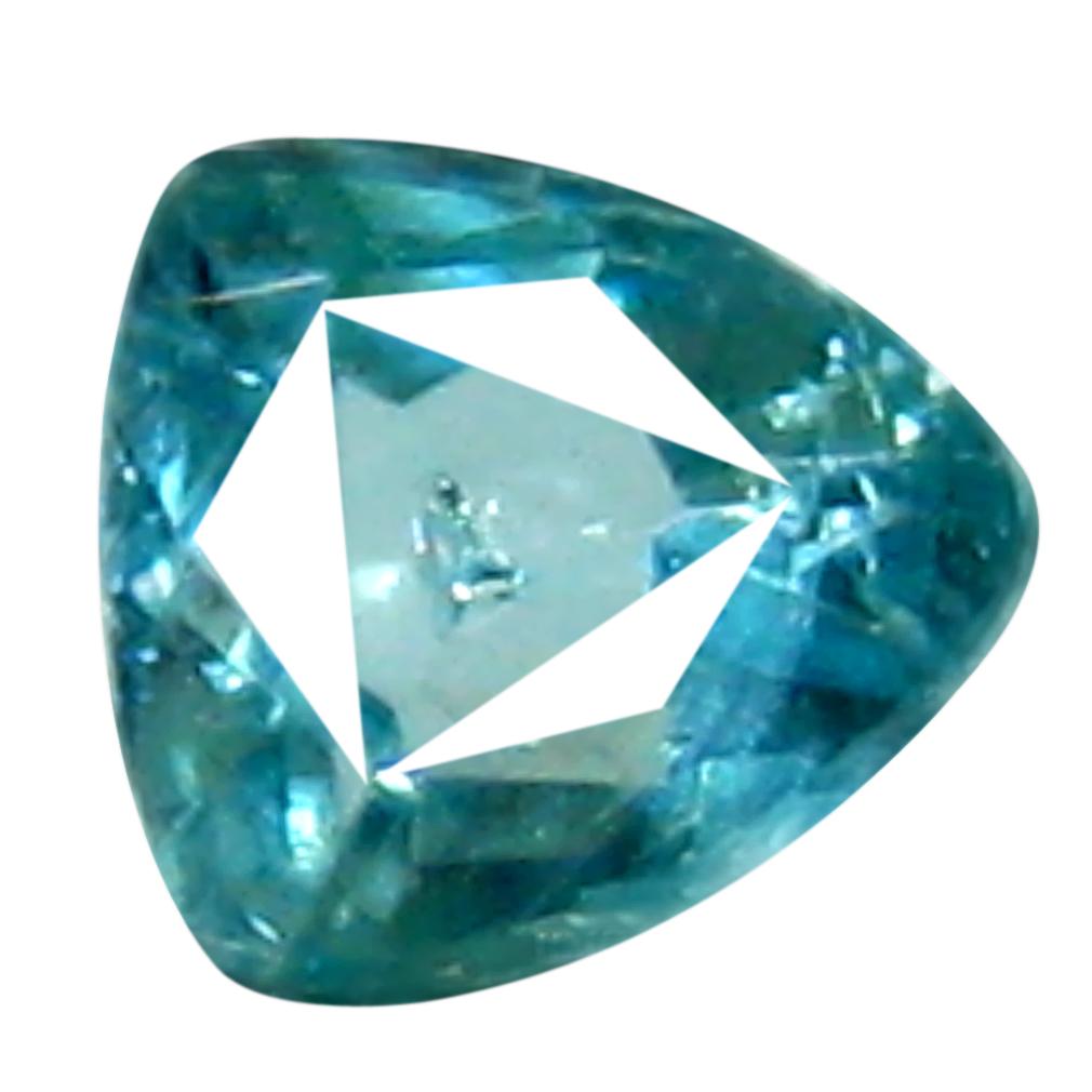0.05 ct AAA+ VVS-VS Good-looking Unheated / Untreated Trillion Cut (3 x 2 mm) Greenish Blue Grandidierite
