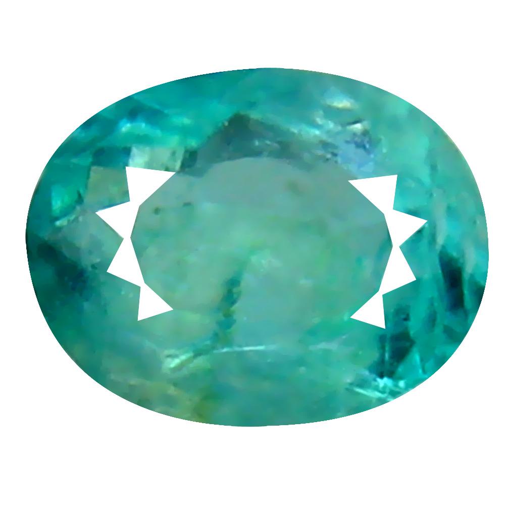 0.32 ct AAA+ VVS-VS Excellent Unheated / Untreated Oval Cut (5 x 4 mm) Greenish Blue Grandidierite