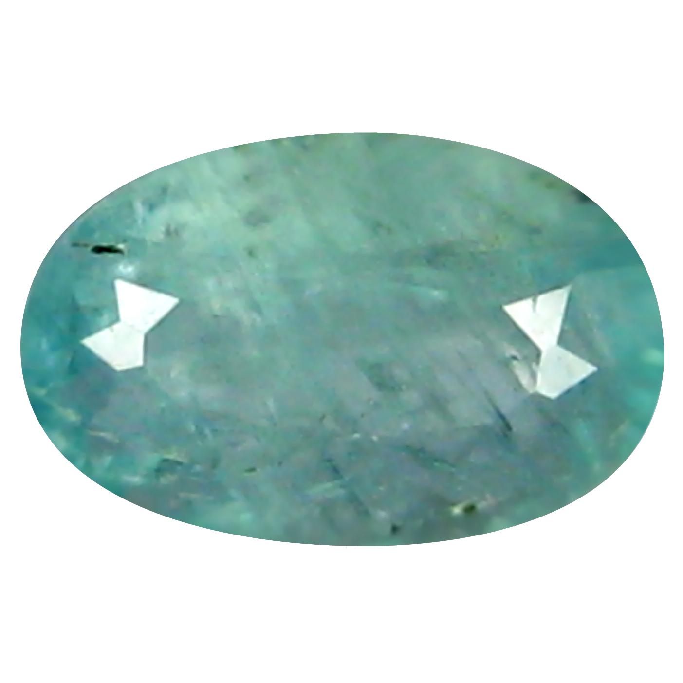 0.45 ct  Great looking Oval Shape (7 x 4 mm) Bluish Green Grandidierite Natural Gemstone