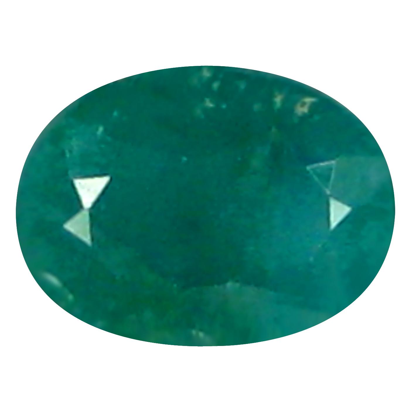 0.22 ct  Magnificent fire Oval Shape (5 x 3 mm) Bluish Green Grandidierite Natural Gemstone