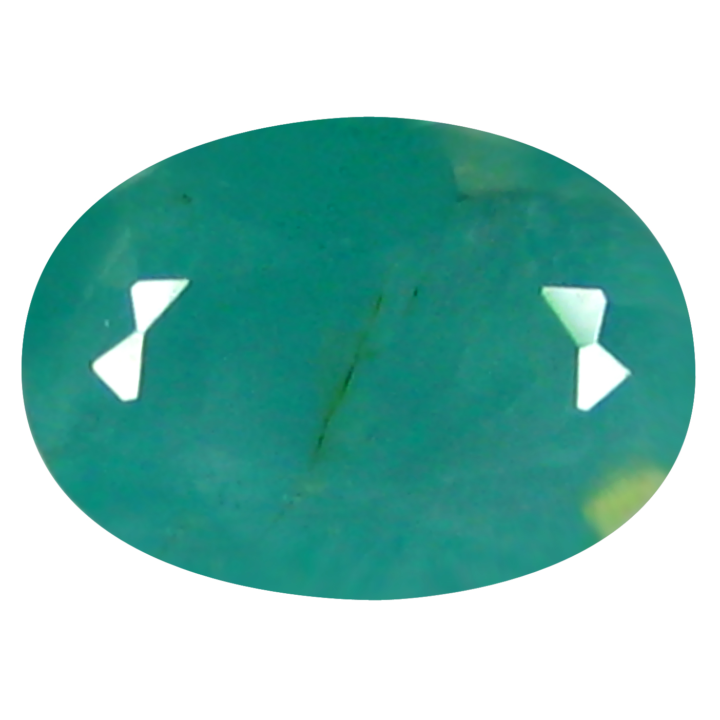 0.74 ct  Valuable Oval Shape (7 x 5 mm) Bluish Green Grandidierite Natural Gemstone