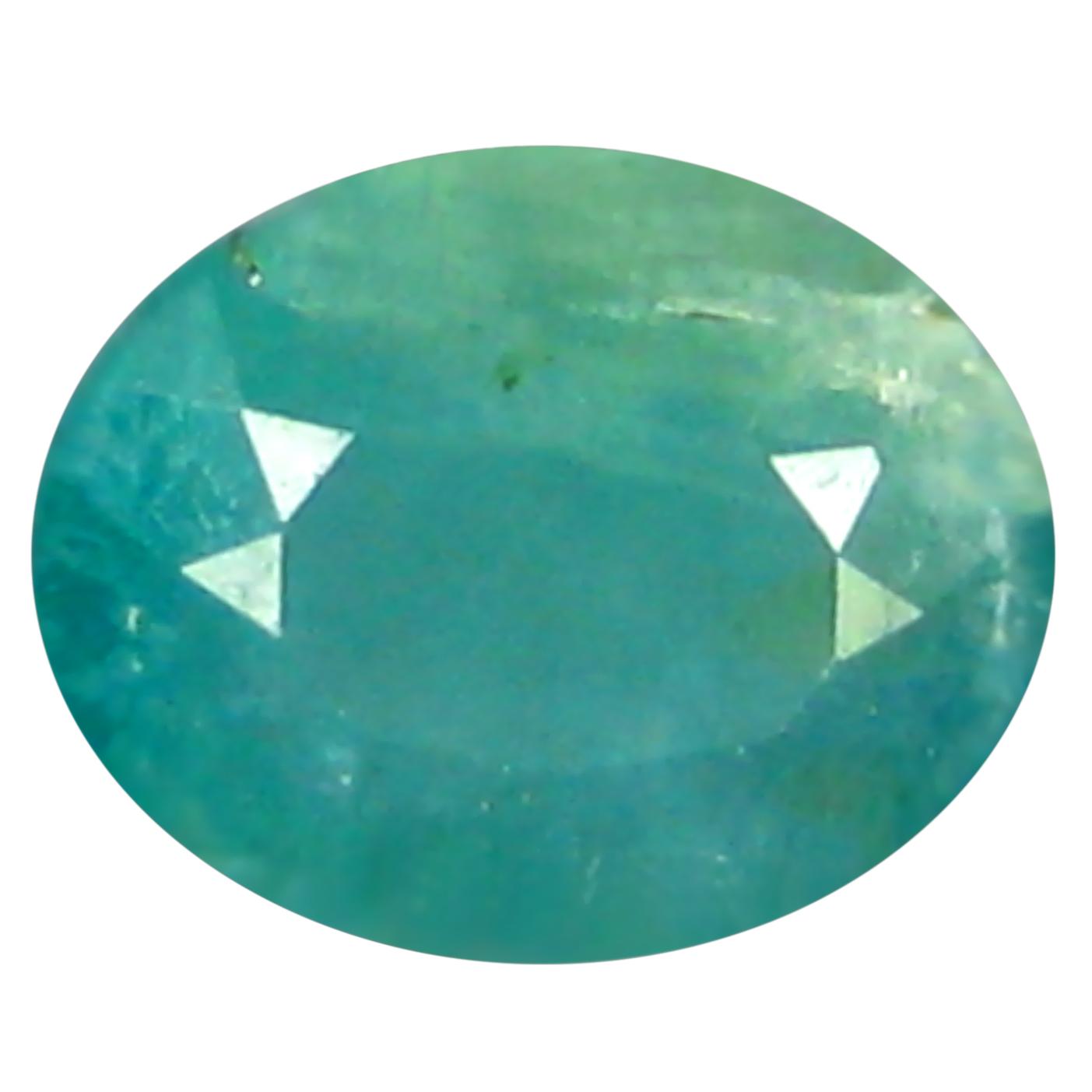 0.31 ct  Terrific Oval Shape (5 x 4 mm) Bluish Green Grandidierite Natural Gemstone