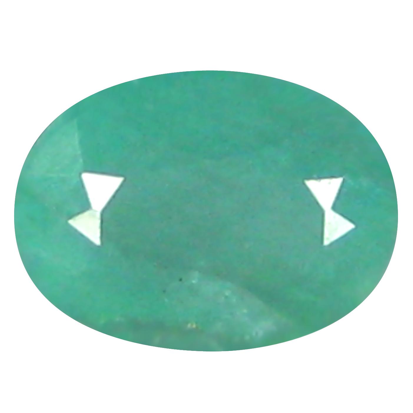 0.26 ct  First-class Oval Shape (5 x 4 mm) Bluish Green Grandidierite Natural Gemstone