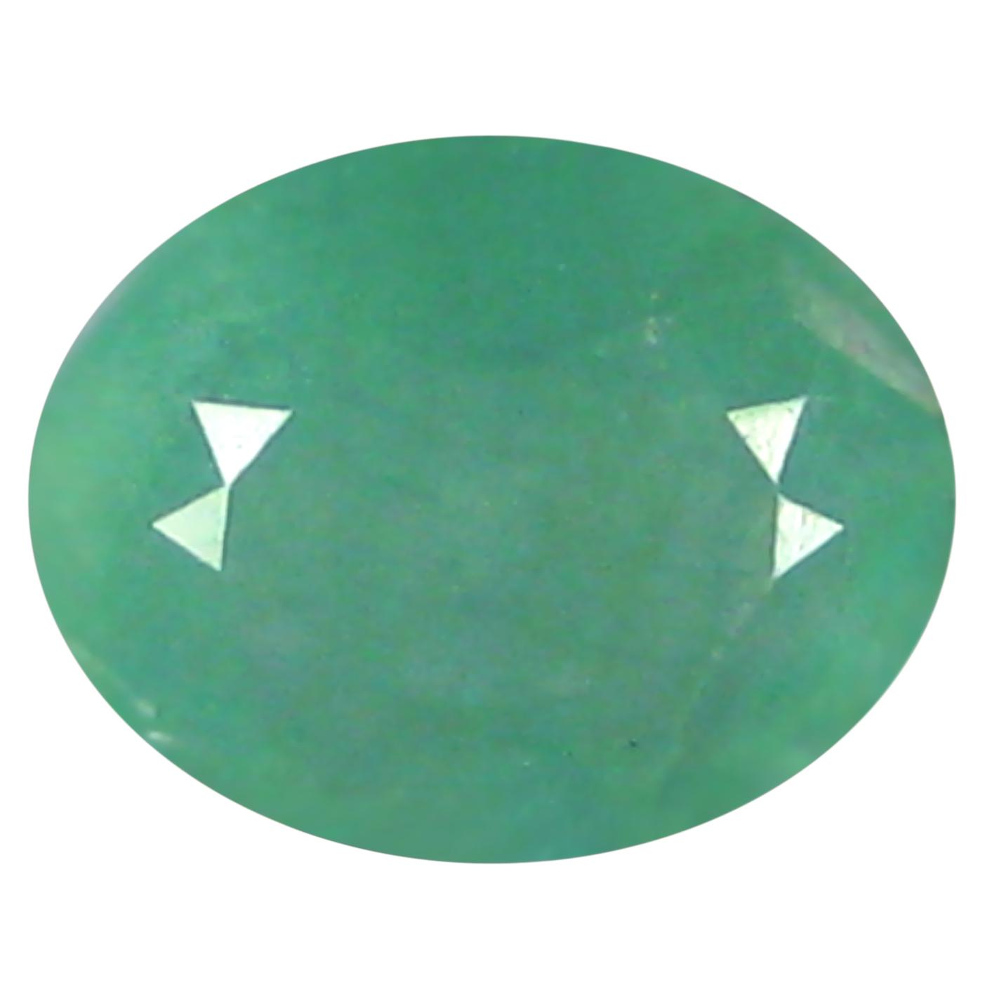 0.61 ct  Fabulous Oval Shape (6 x 5 mm) Bluish Green Grandidierite Natural Gemstone