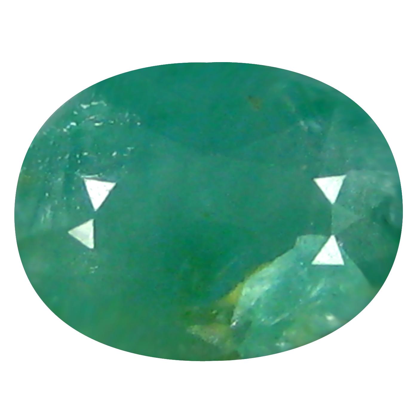 0.68 ct  Wonderful Oval Shape (7 x 5 mm) Bluish Green Grandidierite Natural Gemstone