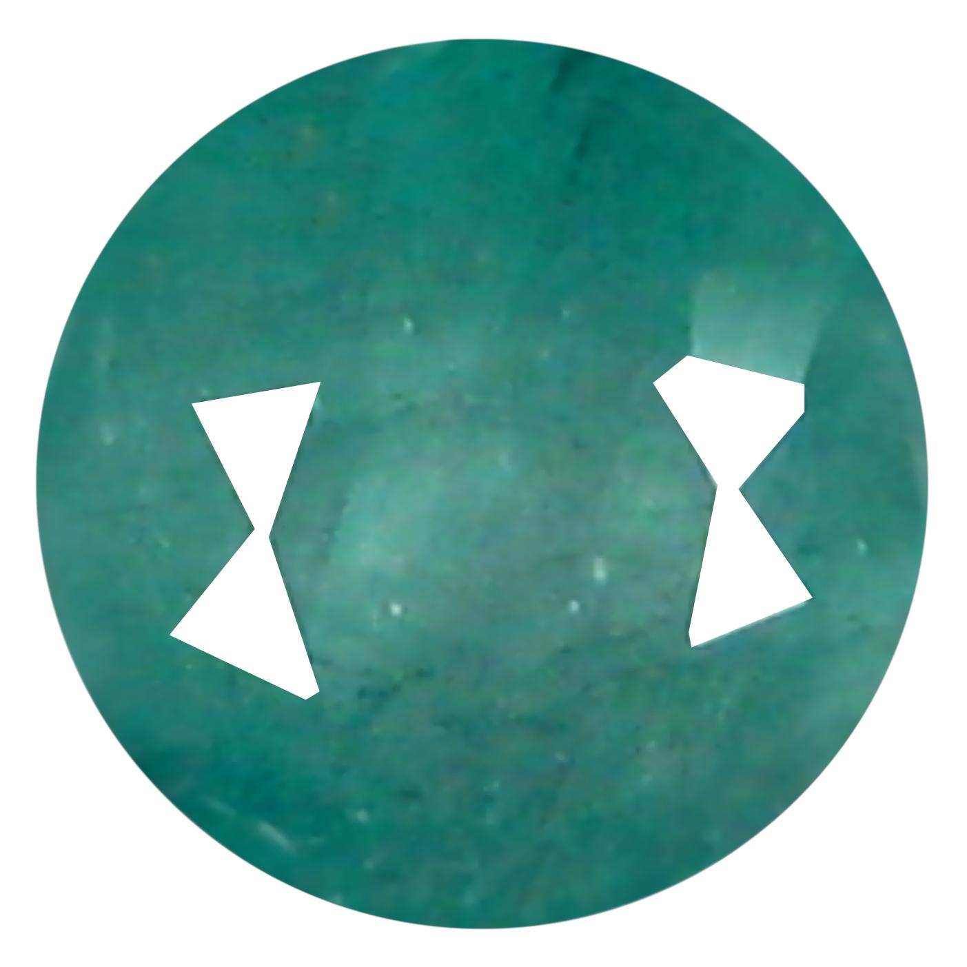0.27 ct  Splendid Round Shape (4 x 4 mm) Bluish Green Grandidierite Natural Gemstone