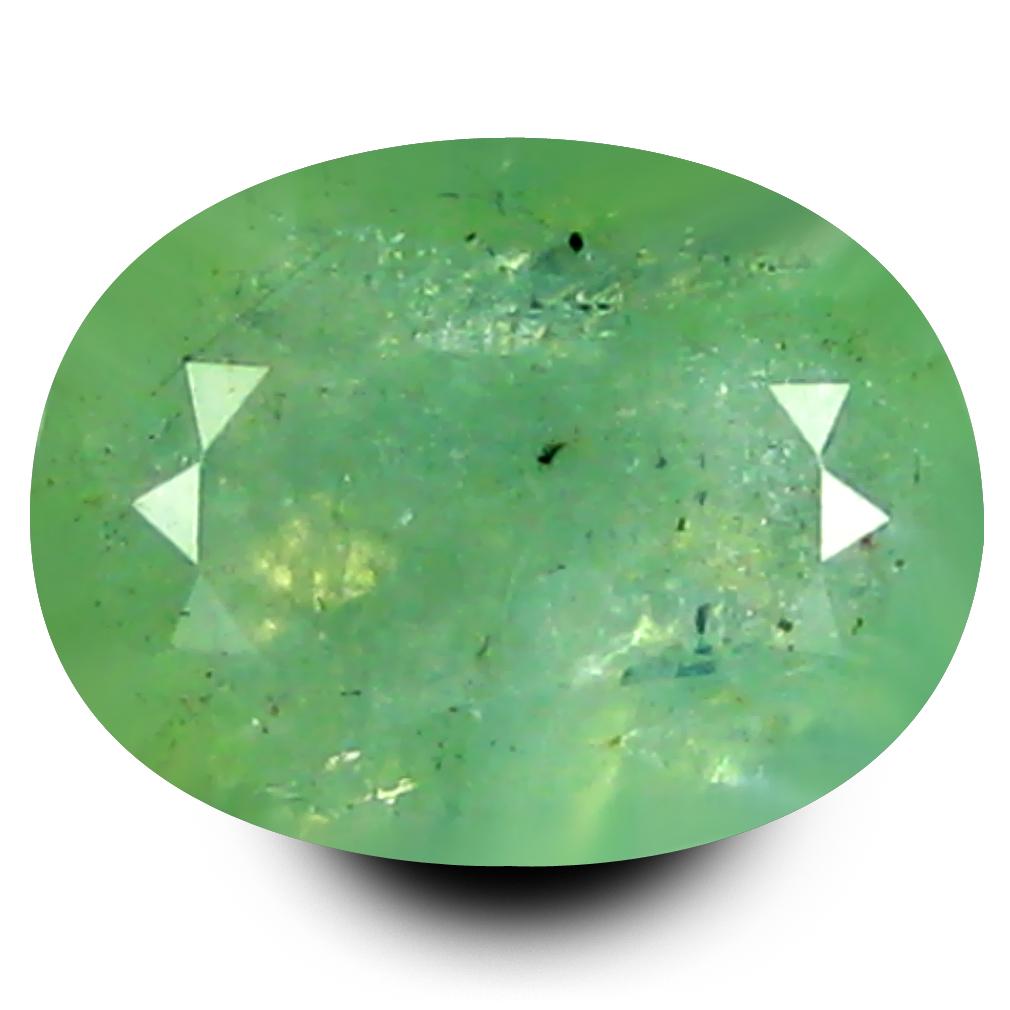 1.64 ct Incomparable Oval Cut (9 x 7 mm) Un-Heated Bluish Green Grandidierite Natural Gemstone