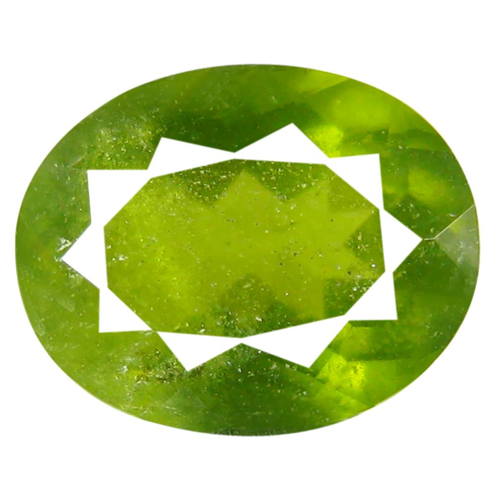 1.36 ct Mesmerizing Oval (8 x 6 mm) Un-Heated Nigeria Grossular Garnet Loose Gemstone