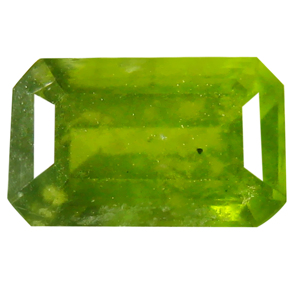 1.16 ct Shimmering Octagon (7 x 5 mm) Un-Heated Nigeria Grossular Garnet Loose Gemstone
