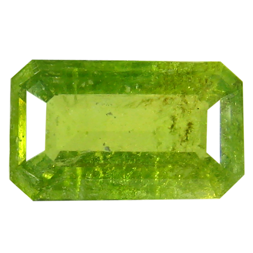 0.99 ct Sparkling Octagon (8 x 5 mm) Un-Heated Nigeria Grossular Garnet Loose Gemstone