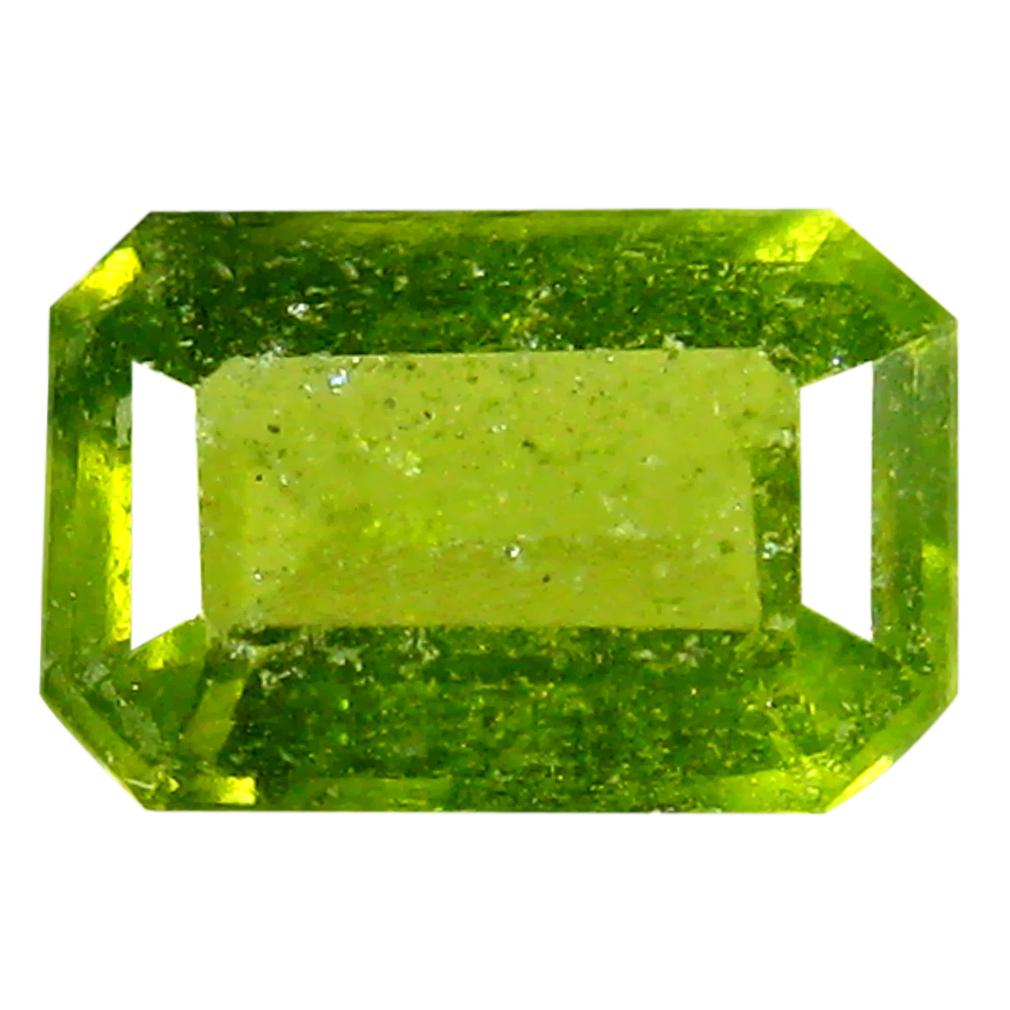 0.59 ct Flashing Octagon (6 x 4 mm) Un-Heated Nigeria Grossular Garnet Loose Gemstone