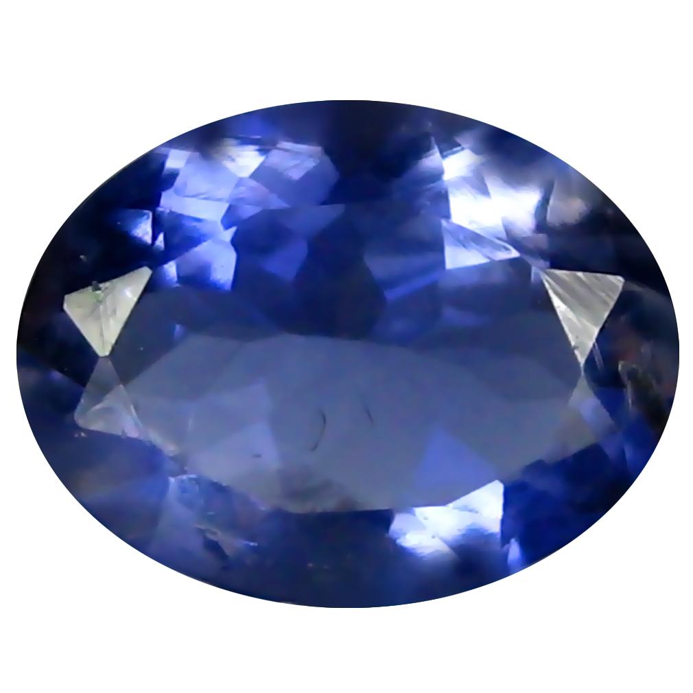 1.40 ct AAA Good-looking Oval Shape (9 x 7 mm) Blue Iolite Natural Gemstone
