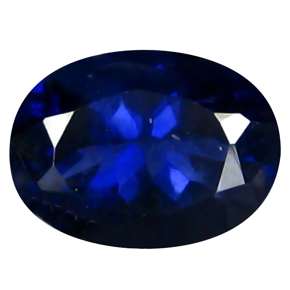 1.12 ct AAA World class Oval Shape (8 x 6 mm) Blue Iolite Natural Gemstone