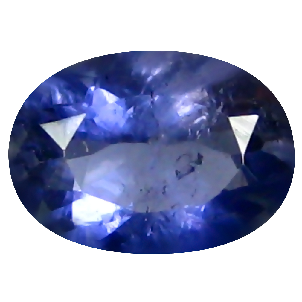 0.58 ct AAA Significant Oval Shape (7 x 5 mm) Blue Iolite Natural Gemstone