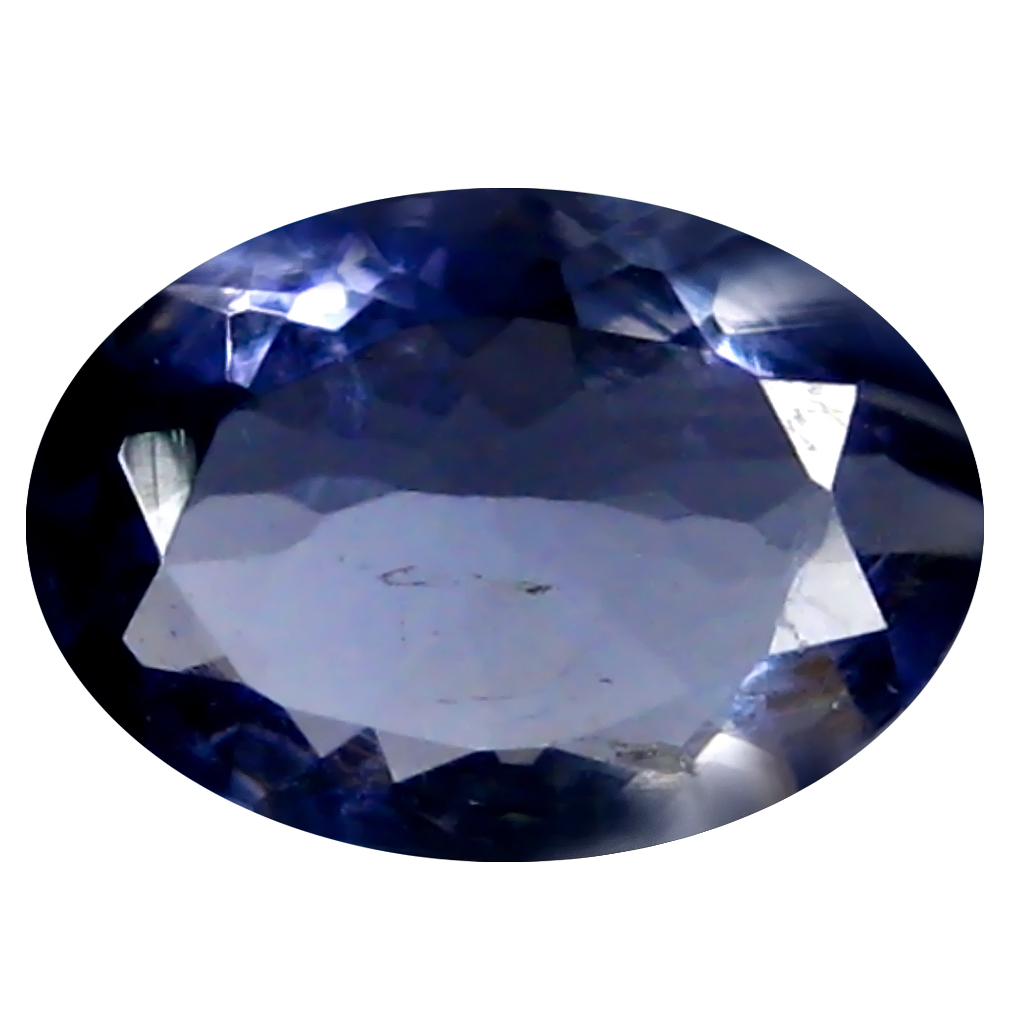 1.19 ct AAA Very good Oval Shape (9 x 7 mm) Blue Iolite Natural Gemstone
