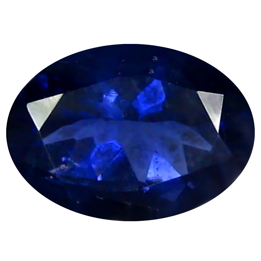 1.09 ct AAA Exquisite Oval Shape (8 x 6 mm) Blue Iolite Natural Gemstone