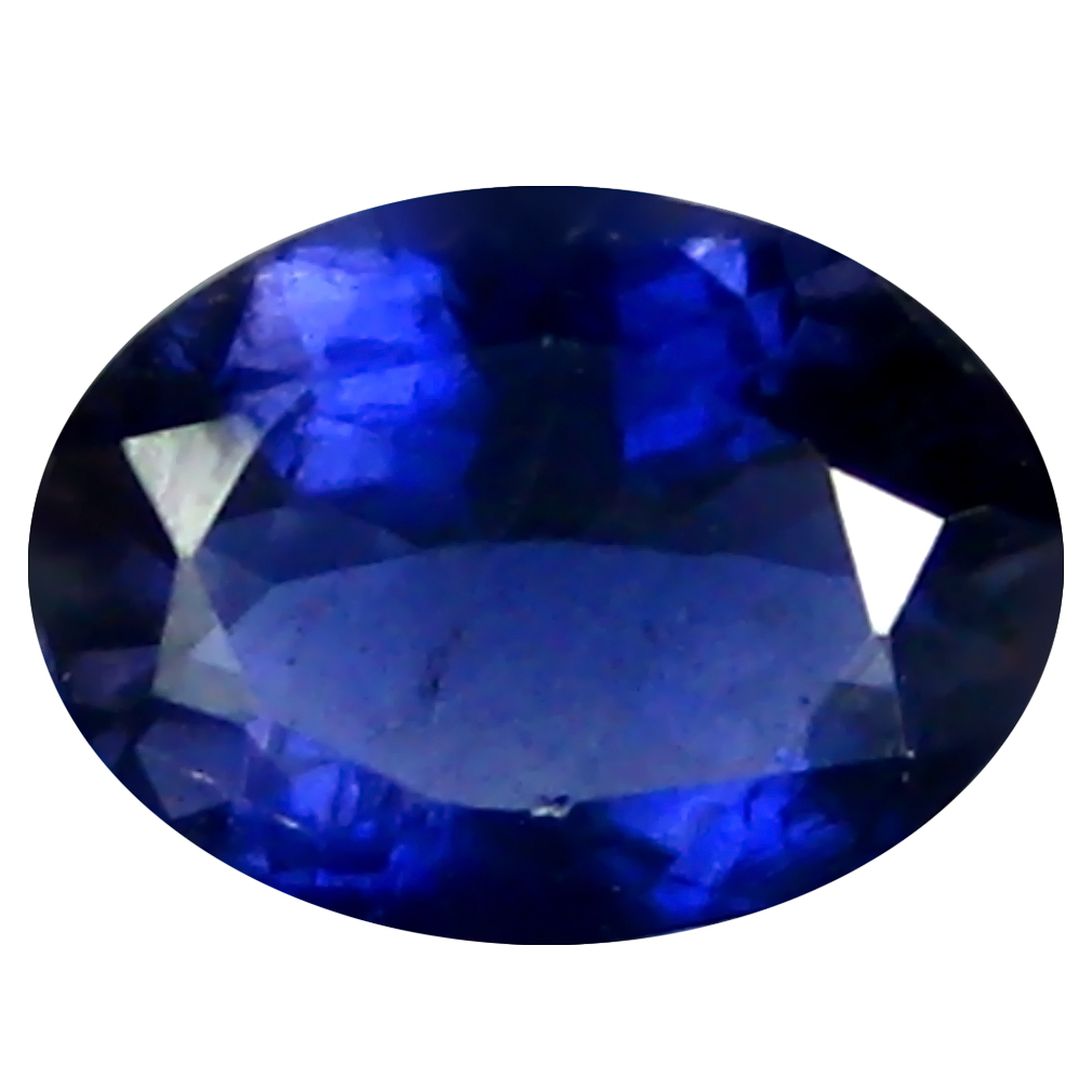 0.77 ct AAA Remarkable Oval Shape (8 x 6 mm) Blue Iolite Natural Gemstone