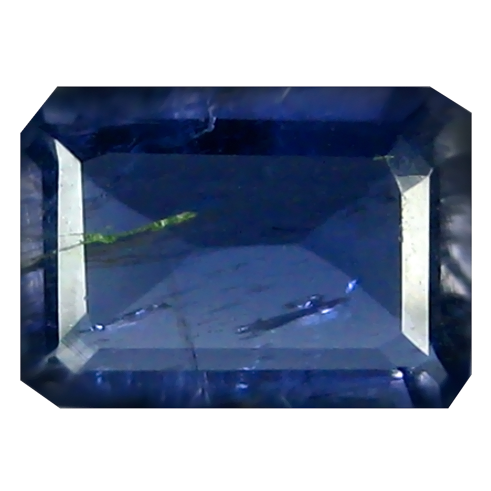 0.90 ct AAA Exquisite Octagon Shape (8 x 6 mm) Blue Iolite Natural Gemstone