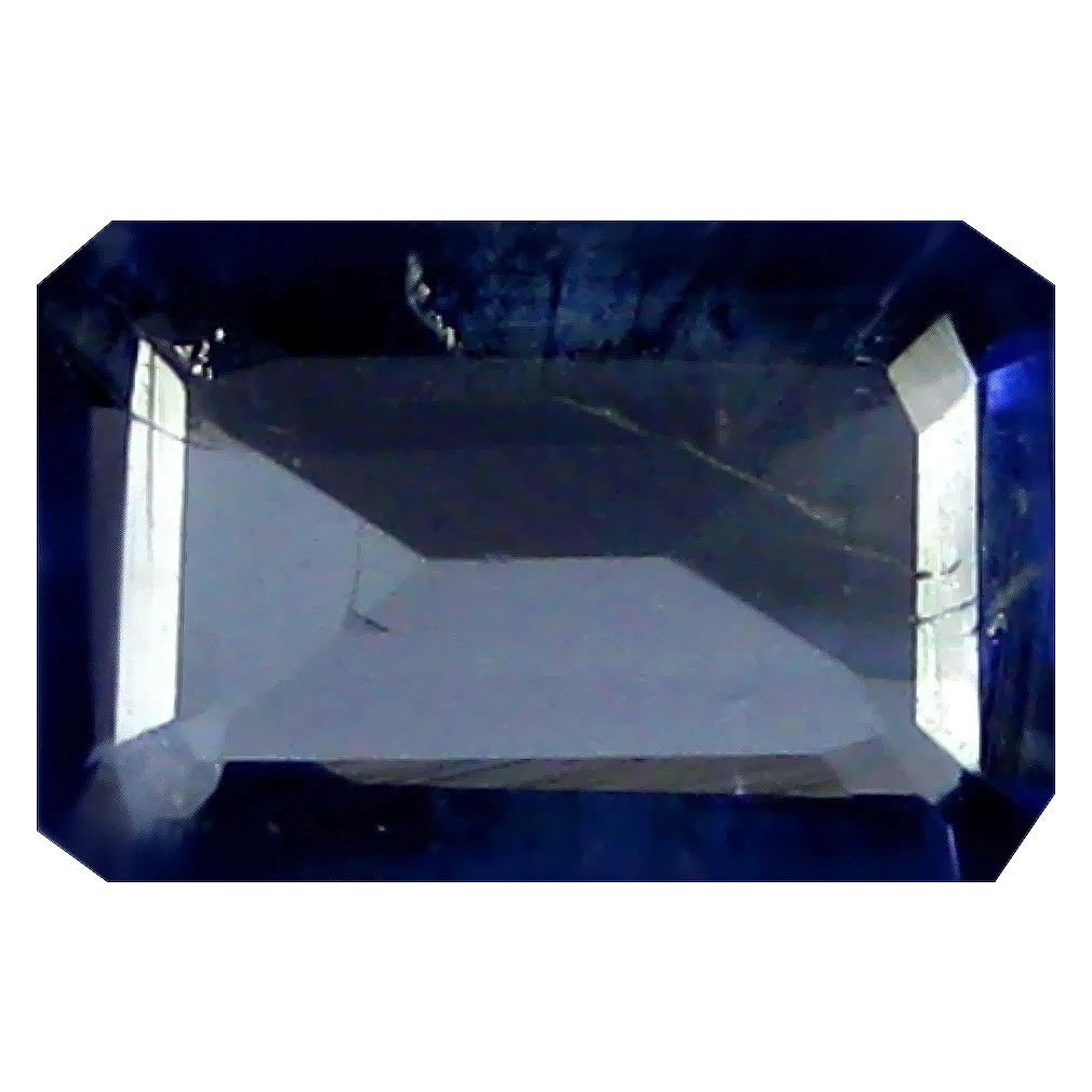 1.05 ct AAA Phenomenal Octagon Shape (8 x 5 mm) Blue Iolite Natural Gemstone