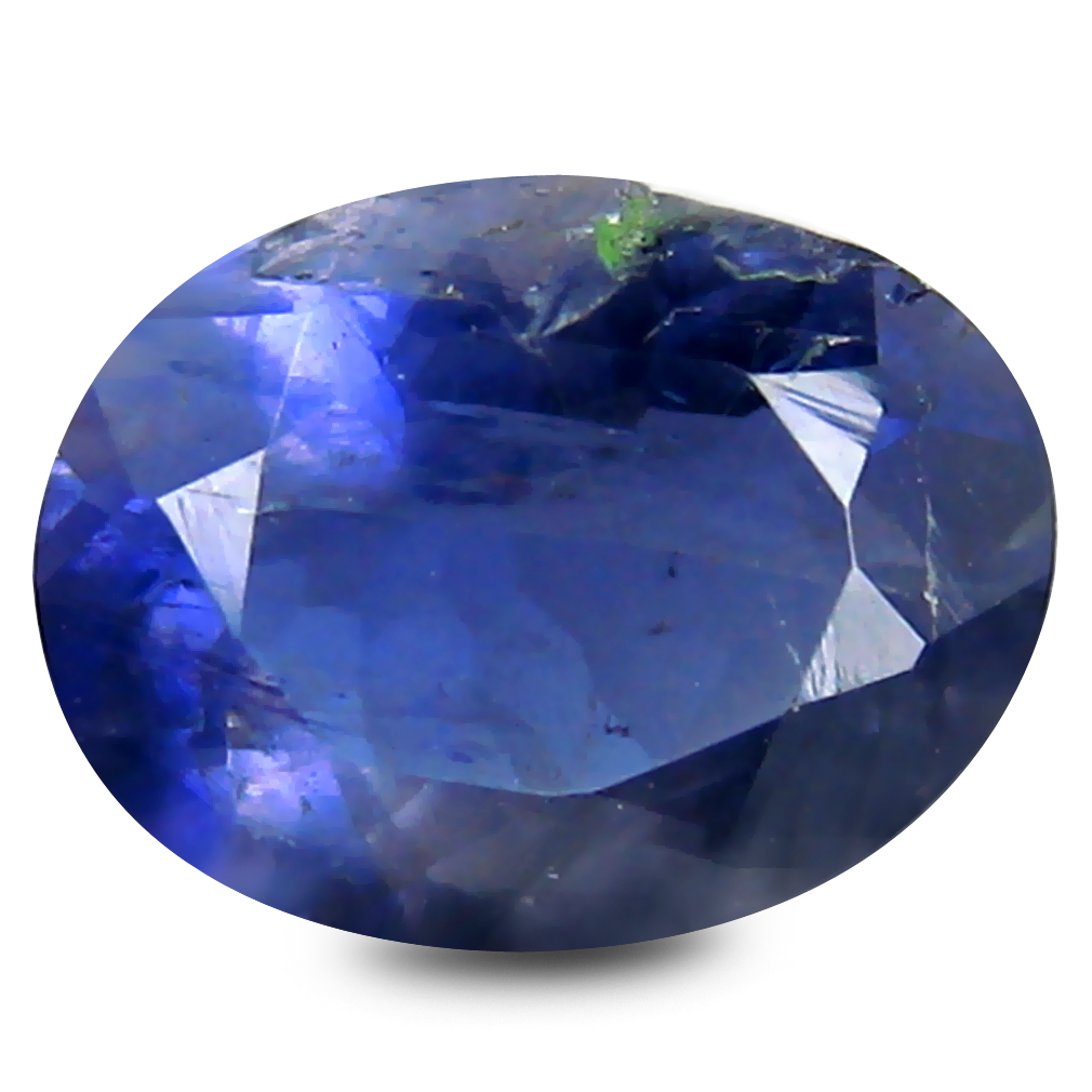 1.42 ct Elegant Oval Cut (9 x 7 mm) Blue Color Natural Iolite Natural Gemstone