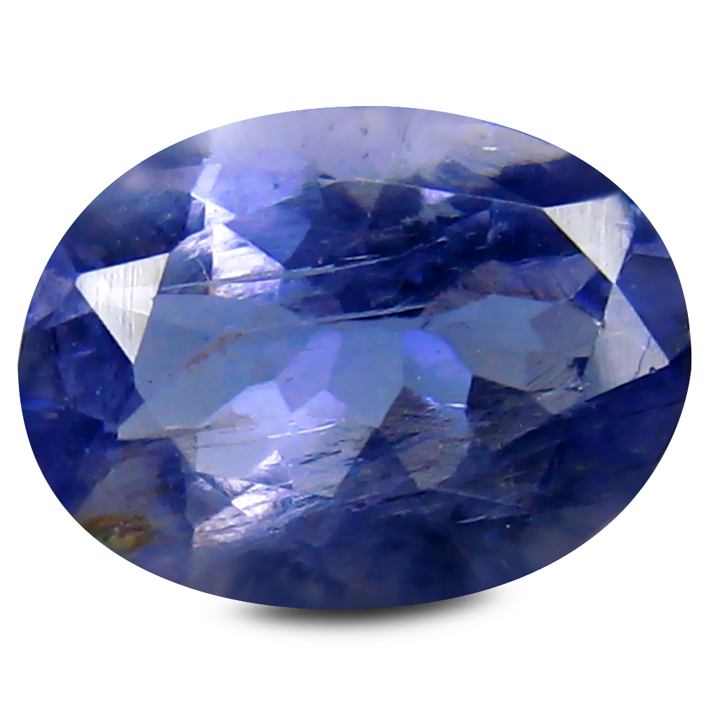 1.00 ct Unbelievable Oval Cut (8 x 6 mm) Blue Color Natural Iolite Natural Gemstone
