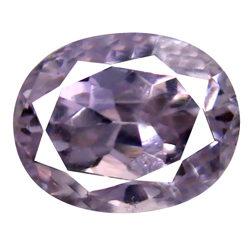 2.64 ct AAA Flashing Oval Shape (8 x 7 mm) Pink Kunzite Natural Gemstone