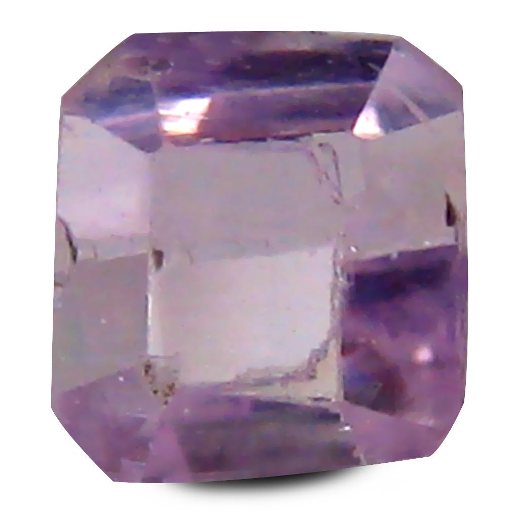 0.82 ct Wonderful Cushion Cut (5 x 5 mm) 100% Natural Fancy Light Pink Color Kunzite Gemstone