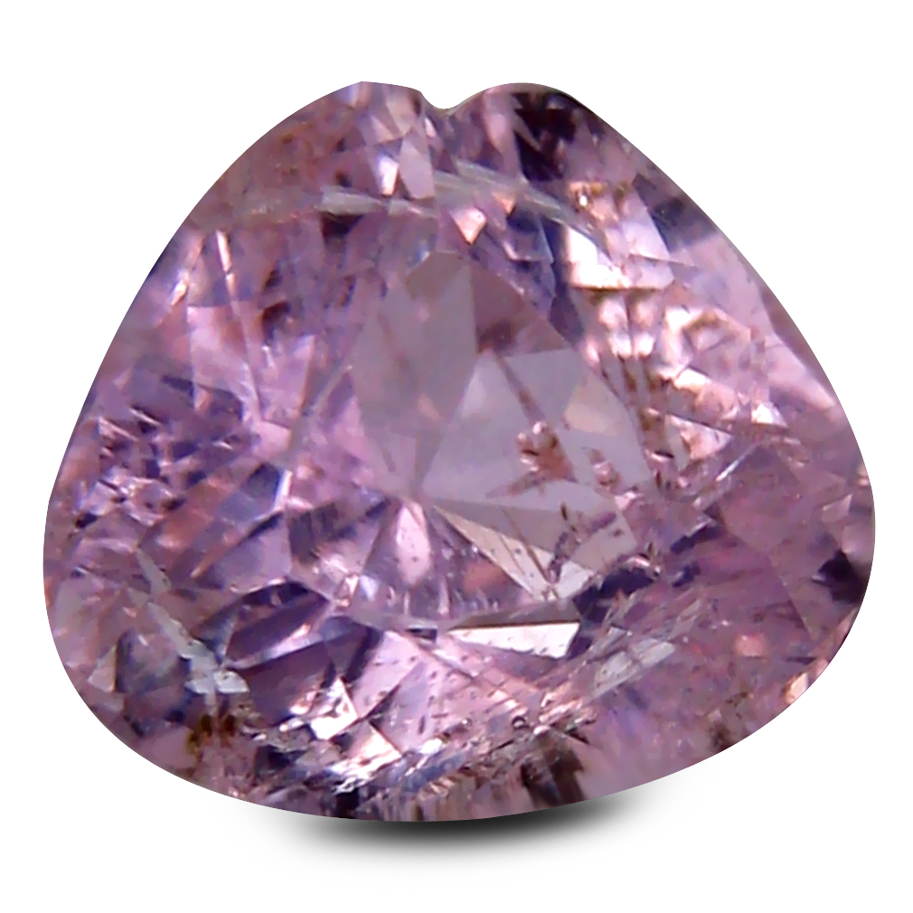 3.42 ct Magnificent fire Pear Cut (10 x 9 mm) 100% Natural Fancy Light Pink Color Kunzite Gemstone