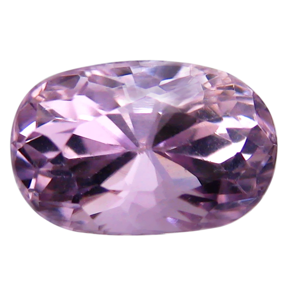 3.39 ct AAA Flashing Oval Shape (10 x 7 mm) Pink Kunzite Natural Gemstone