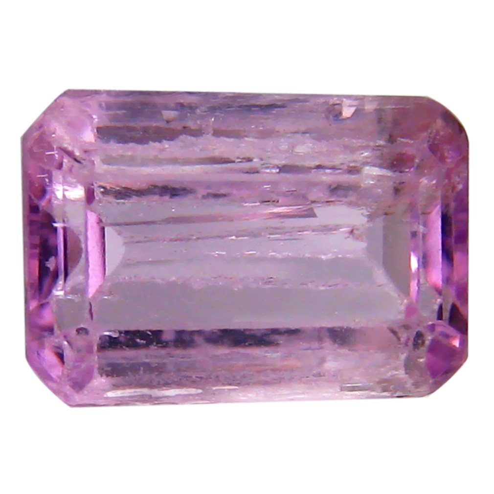 3.06 ct AAA Dazzling Octagon Shape (10 x 7 mm) Pink Kunzite Natural Gemstone