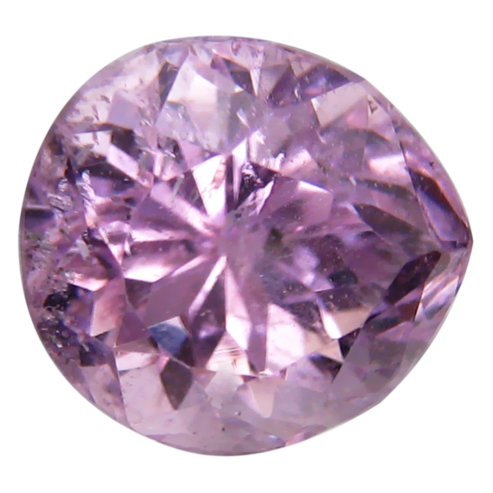 3.51 ct AAA Superior Pear Shape (9 x 8 mm) Pink Kunzite Natural Gemstone