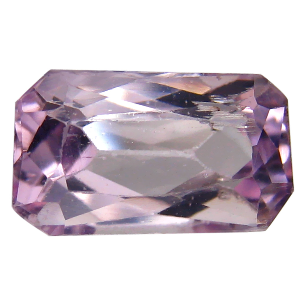 3.42 ct AAA Magnificent fire Emerald Shape (11 x 7 mm) Pink Kunzite Natural Gemstone