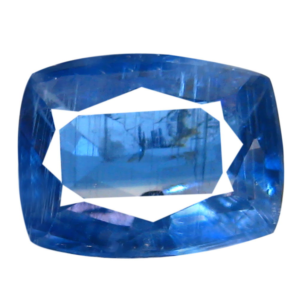 1.63 ct AA+ Lovely Cushion Shape (8 x 6 mm) Blue Kyanite Natural Gemstone