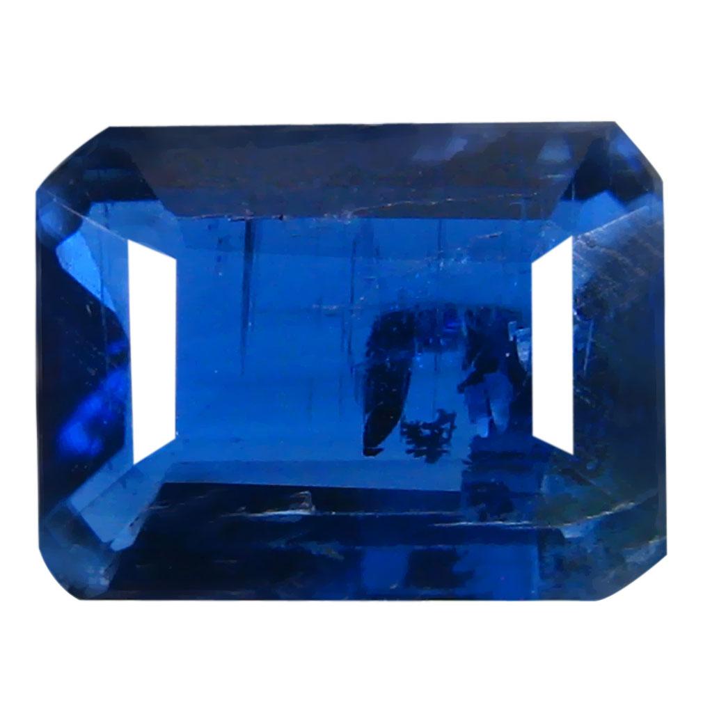 1.62 ct AA+ Elegant Octagon Shape (8 x 6 mm) Blue Kyanite Natural Gemstone