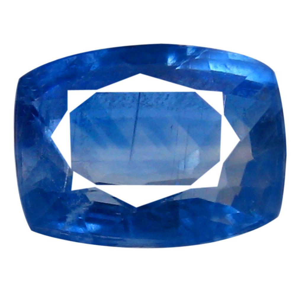 1.43 ct AA+ Gorgeous Cushion Shape (8 x 6 mm) Blue Kyanite Natural Gemstone