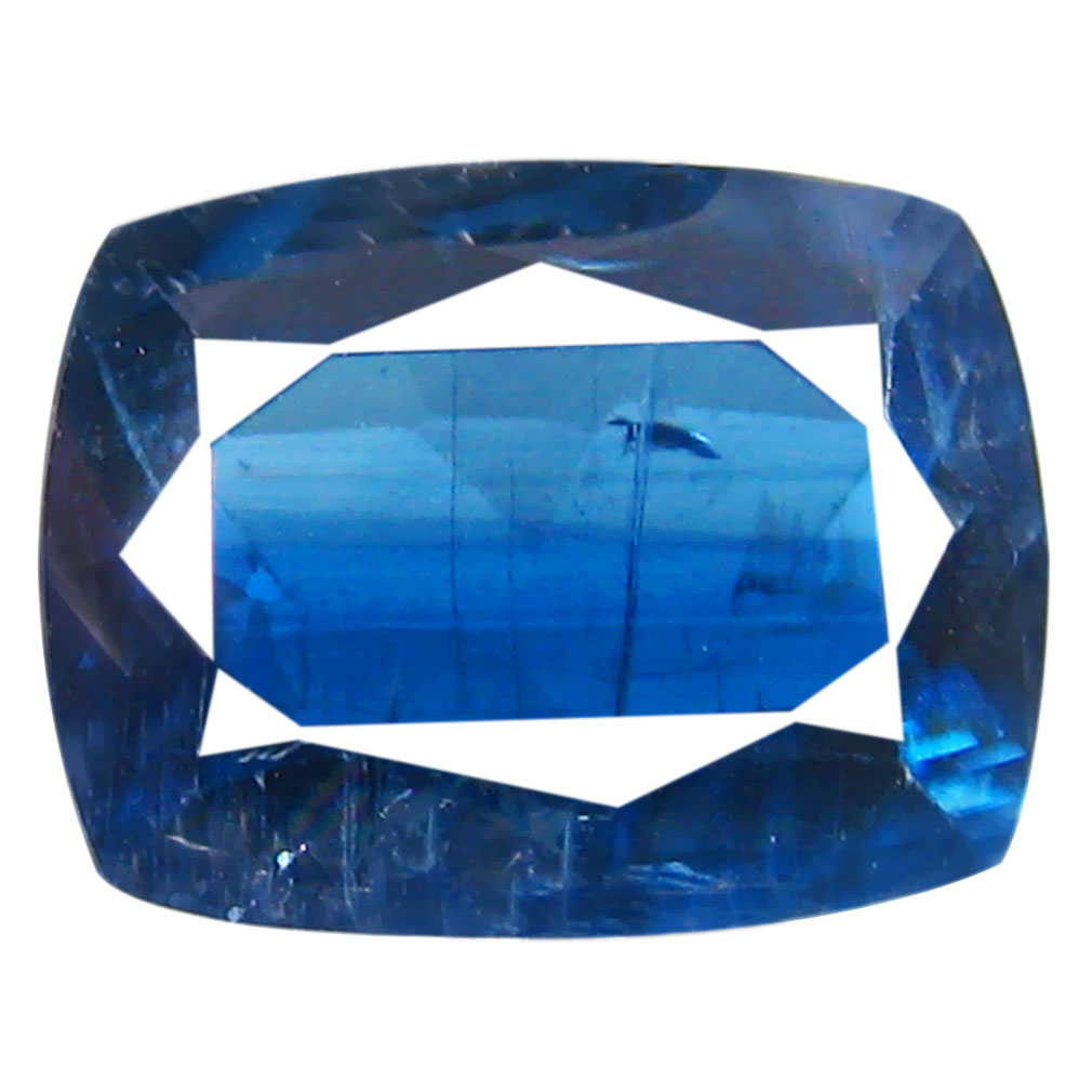 1.54 ct AA+ Astonishing Cushion Shape (8 x 6 mm) Blue Kyanite Natural Gemstone