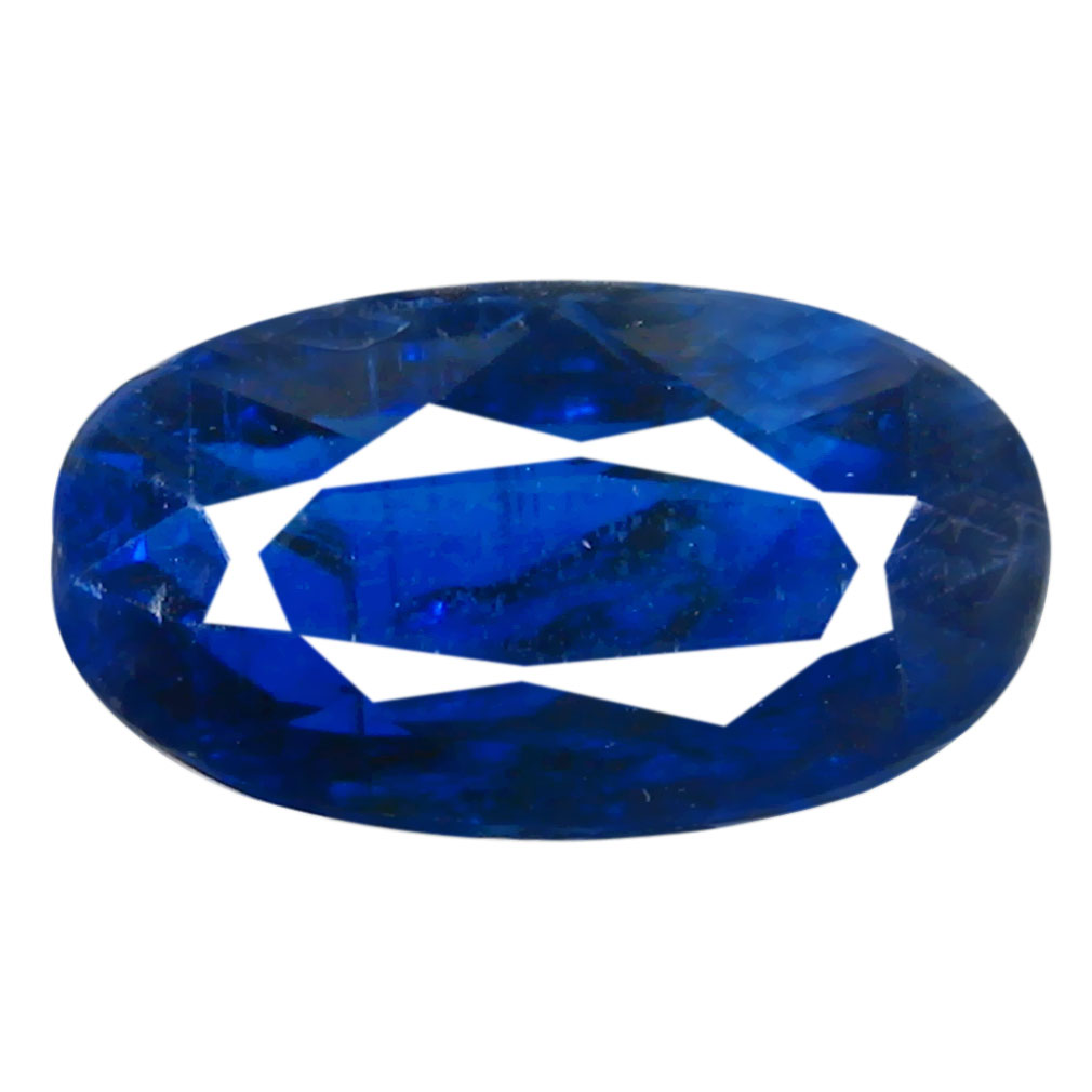 3.02 ct AA+ Super-Excellent Oval Shape (10 x 6 mm) Blue Kyanite Natural Gemstone