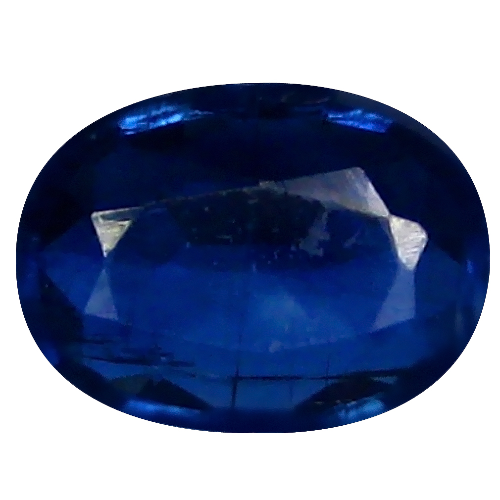 1.94 ct AAA Awe-inspiring Oval Shape (9 x 7 mm) Blue Kyanite Natural Gemstone