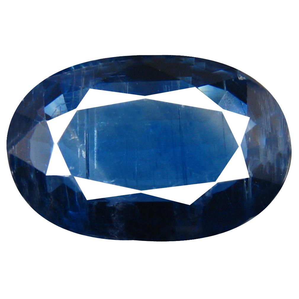 2.97 ct AA+ Good-looking Oval Shape (11 x 7 mm) Blue Kyanite Natural Gemstone