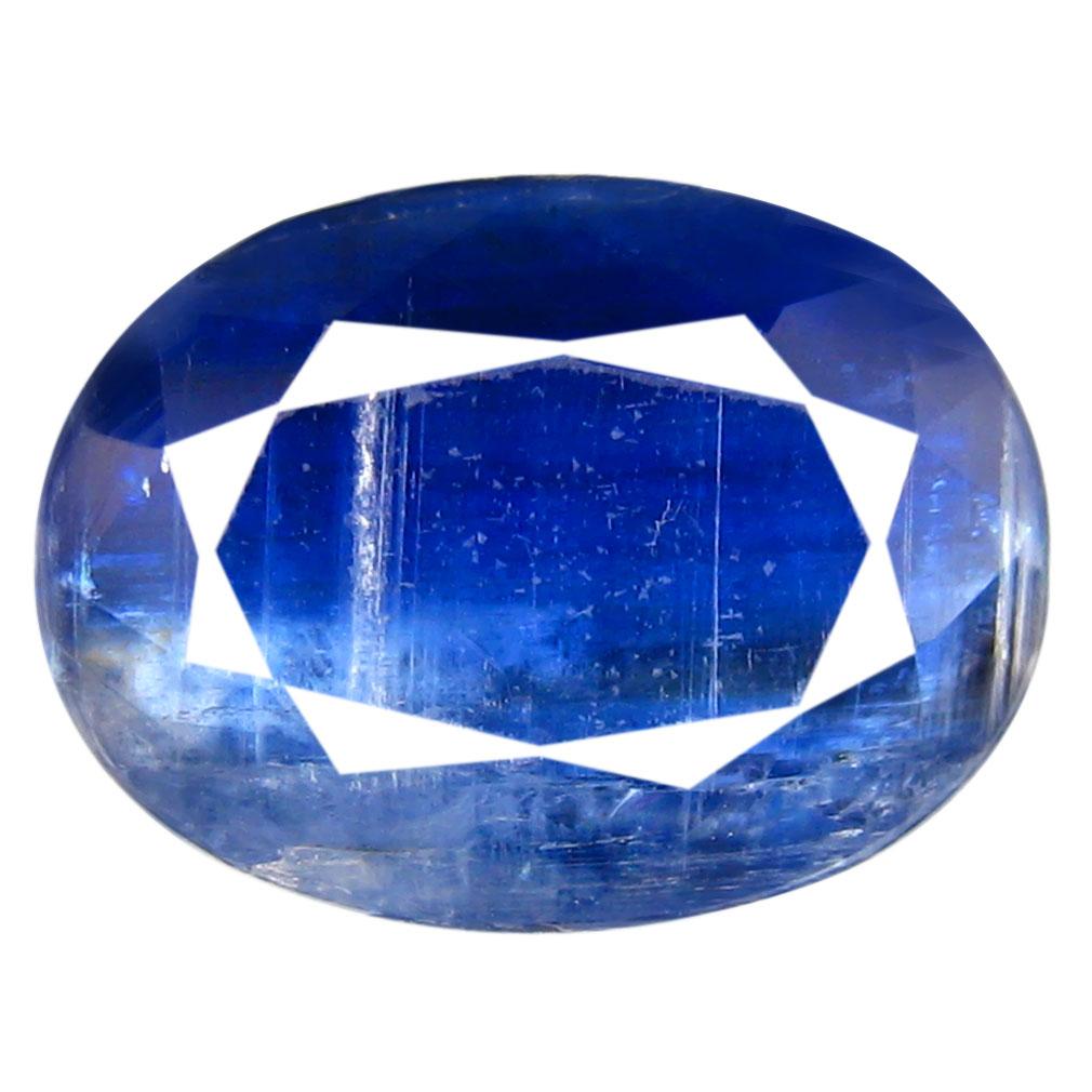 4.99 ct AA+ Topnotch Oval Shape (12 x 9 mm) Blue Kyanite Natural Gemstone