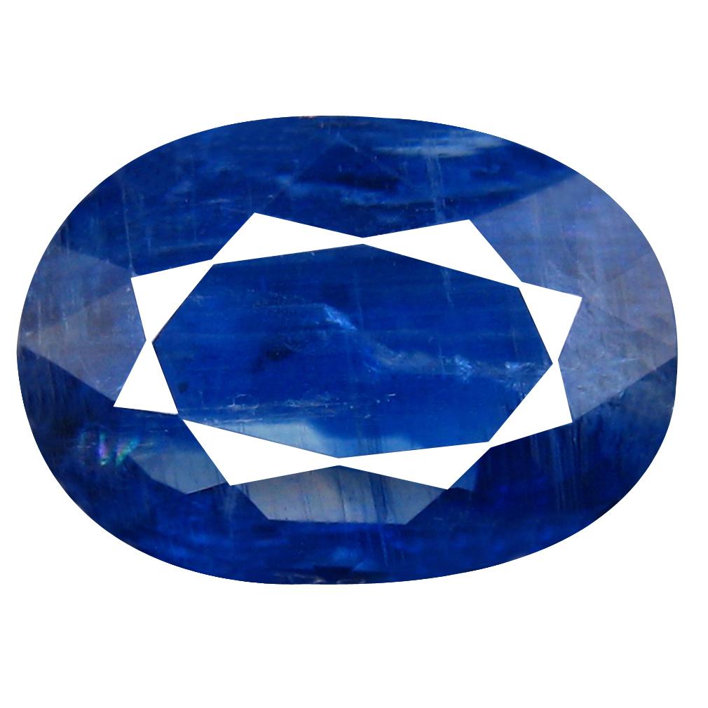 3.50 ct AA+ Incredible Oval Shape (11 x 8 mm) Blue Kyanite Natural Gemstone