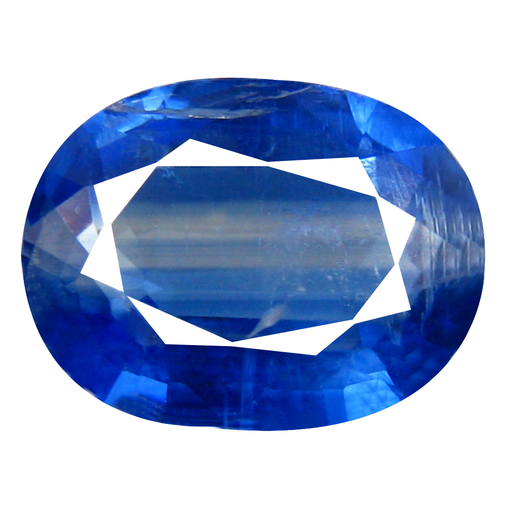 2.16 ct AA+ Exquisite Oval Shape (9 x 7 mm) Blue Kyanite Natural Gemstone